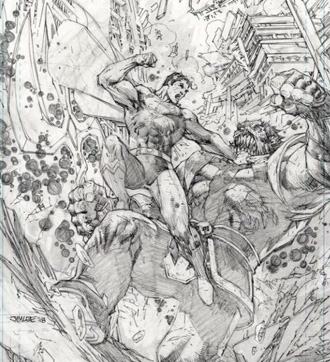 Action Comics #1000, Jim Lee