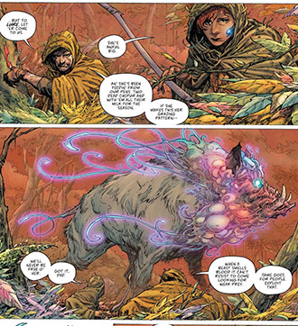 Seven To Eternity #1, Jerome Opena